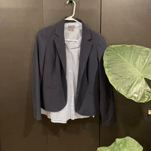 Blazer and long sleeve pair size M